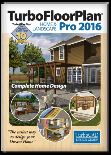 TurboFloorPlan Home and Landscape Pro 2016 (Electronic Software Delivery)