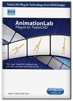 Animation Lab  plug-in for TurboCAD v21 2016  (Electronic Software Delivery)