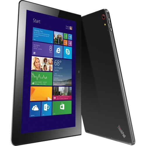 "Lenovo ThinkPad Tablet 10 20C3001UUS 128 GB Tablet - 10.1"" - In-plane Switching (IPS) Technology - Wireless LAN - Intel Atom Z3795 Quad-core (4 Core) 1.59 GHz - Graphite Black"