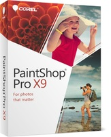 PaintShop Pro X9 (Electronic Software Delivery)