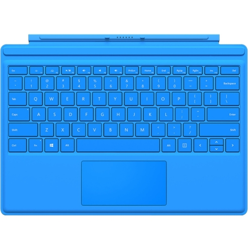 Microsoft Type Cover Keyboard/Cover Case for Tablet - Bright Blue