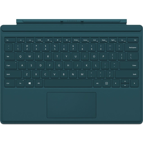 Microsoft Type Cover Keyboard/Cover Case for Tablet - Teal