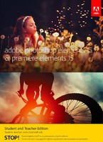 Photoshop Elements & Premiere Elements 15 Student and Teacher Edition (Windows Download)