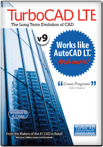 TurboCAD LTE v9 (Electronic Software Delivery)