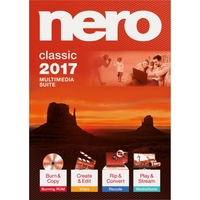Nero 2017 Classic - CD/DVD Burning