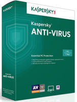 Kaspersky Anti-Virus 2017 (1 PC/1 Year)