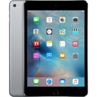 Apple iPad mini 4 128 GB Tablet - 7.9; 4:3 Multi-touch Screen - 2048 x 1536 - Retina Display - Apple A8 Dual-core (2 Core) 1.50 GHz - iOS 9 - Space Gray - Wireless LAN - Bluetooth - Imagination Technologies PowerVR GX6450 Graphics - Lightning - Barometer, Ambient Light Sensor, Accelerometer, Gyro Sensor, Digital Compass - Front Camera/Webcam - 8 Megapixel Rear Camera