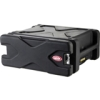 ROLL-X 4U ROLLING RACK BLACK