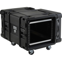 28IN 8U ROTO SHOCK RACK BLACK