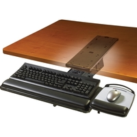 KEYBOARD TRAY ADJUSTABLE LEVER