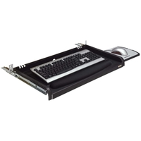 UNDER DESK KEYBOARD DRAWER BLK