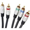 Petra PET10-5802 Digital Component Audio/Video Cable - RCA Male - RCA Male - 6ft