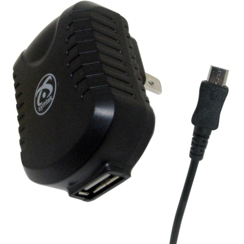 USB AC Charger w Micro Conn