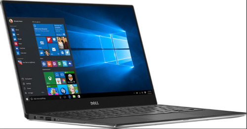"Dell XPS 13 MLK (9360) 13.3"" FHD 1920x1080 Infinity display Intel Core i-7 7500U 4M cache up to 3.5 GHz (Silver)"