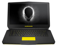 "Dell Alienware 15.6"" FHD IPS 300 NITS 1920x1080 Intel Core i-5 6300HQ 6MB cache up to 3.2GHz (Silver)"