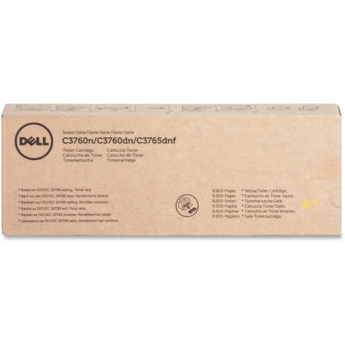 Dell Yllw Toner Cartrdg 9000pg