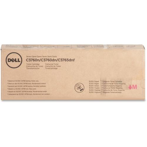 Dell Mgnta Toner Cartrdg 9000p