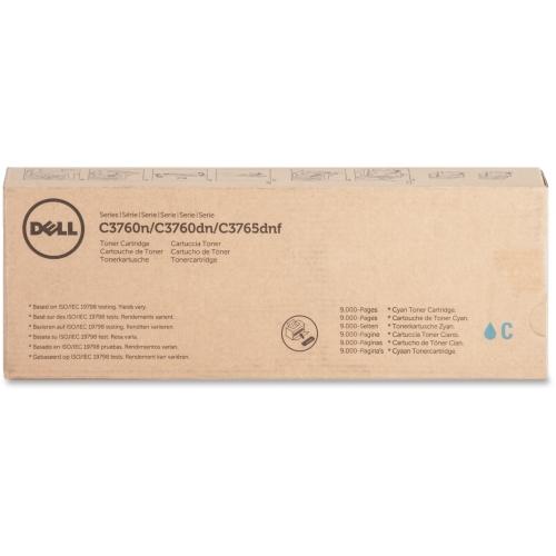 Dell Cyan Toner Cartrdg 9000pg