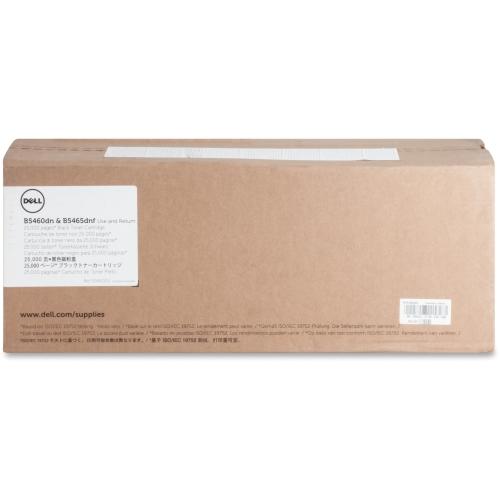 Dell Blk Toner Crtrdg 25000pg