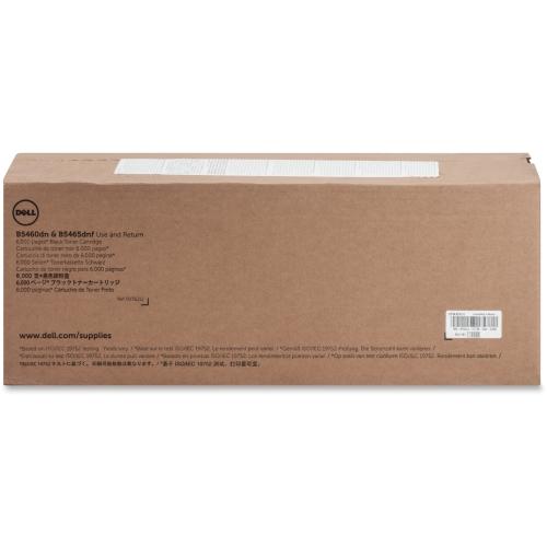 Dell Blk Toner Crtrdg 6000pg