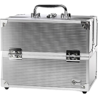 Crafter's Train Case 4Tray Slv