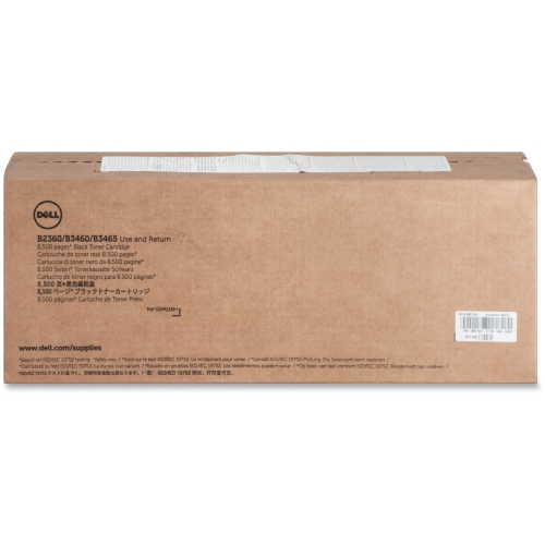 Dell Blk Toner Cartrdg 8500pg