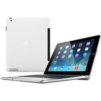 ClamCase Pro iPad2  WhtSlvr