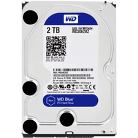 2TB  BLUE SATA 5400 RPM 64MB