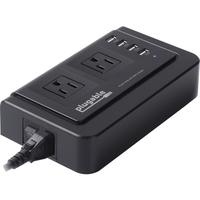 PLUGABLE DUAL AC 4 USB CHARGER