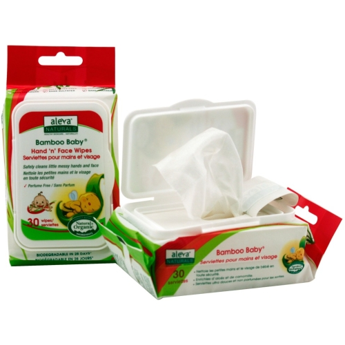 BAMBOO HAND N FACE WIPES