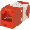 CAT5E MODULE RED TG STYLE