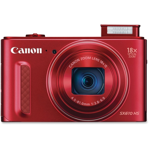 POWERSHOT SX610 HS RED 20.2MP