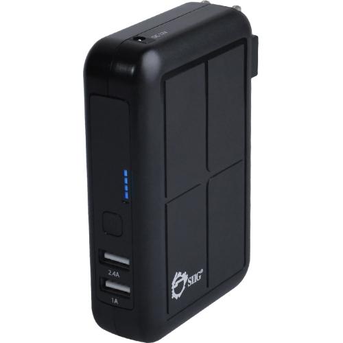 3-IN1 USB POWER BANK BLACK