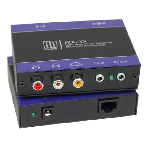NTSC/PAL AUDIO IR CAT5 EXTENDER