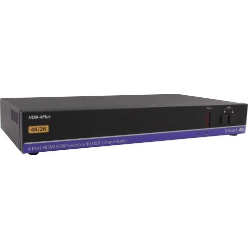 4K HDMI USB 20 4X1 KVM SWITCH