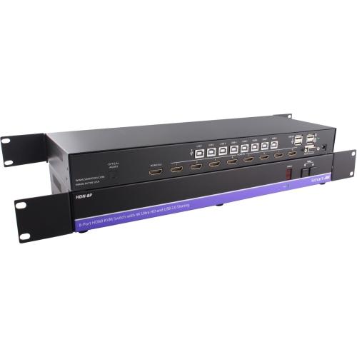 4K HDMI USB 20 8X1 KVM SWITCH