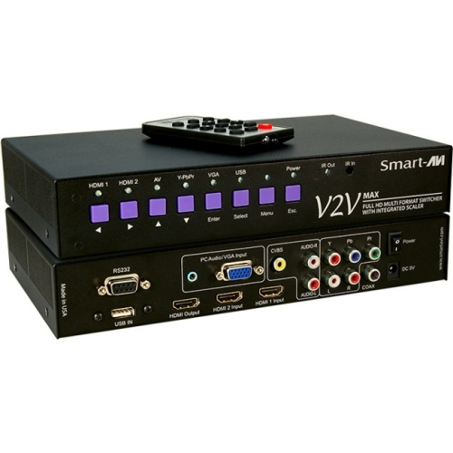 6PORT MULTI FORMAT SWITCHER
