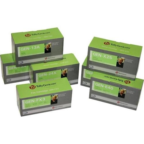 BLACK FABRIC RIBBON CARTRIDGE
