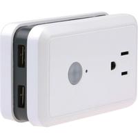 Wifi Wall Plug w Energy 2 USB