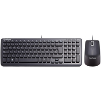 USB KEYBOARD & MOUSE BNDL BLACK