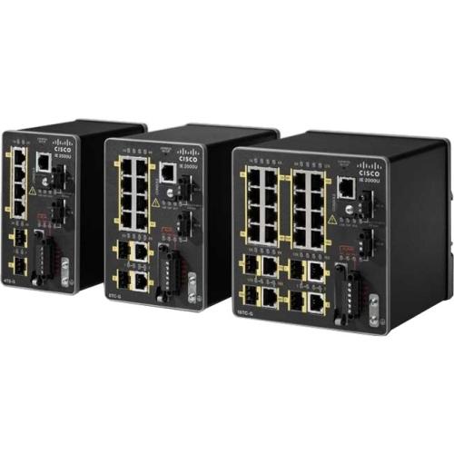IE 2000U 4 x 10/100, 2 SFP  FD