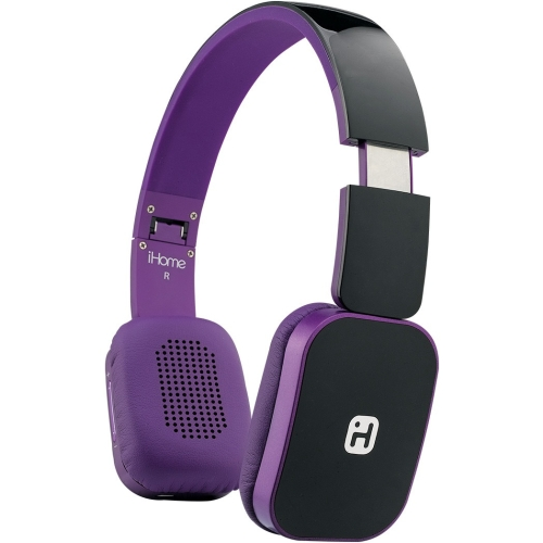 BT Headphone w Mic Purple