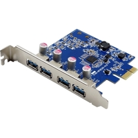 4PORT USB 3.0 X1 PCIE BUS
