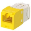 MINI-COM MODULE CAT6 YELLOW