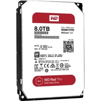 8TB RED PRO SATA 6GB/S 7200 RPM