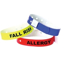 500PK FALL RISK ALERT WRISTBAND