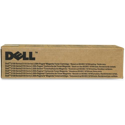 Dell Mgnta Toner Cartrdg 2500p