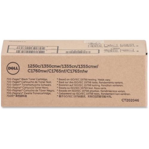 Dell Blk Toner Cartrdg 700pg