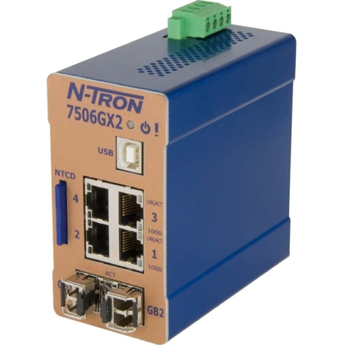 N-TRON MANAGED ETHERNET SWITCH