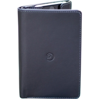 BLACK LEATHER WALLET CASE FOR